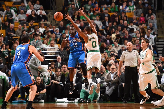 Oklahoma ok contro i Boston Celtics