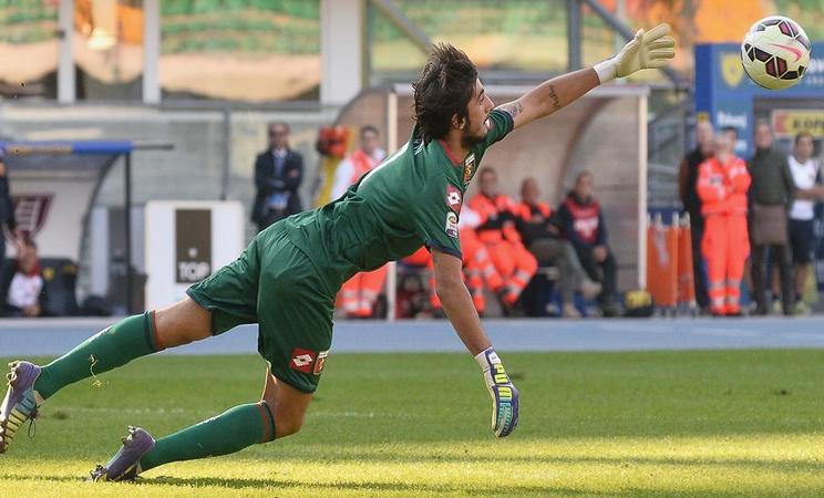 Perin salva il Genoa: al Sant'Elia termina 1-1