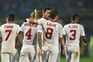 Ljajic e Nainggolan, gli autori dei due gol della Roma