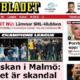 """Per i giornali svedesi Malmoe-Juventus è """"uno scandalo"""""""