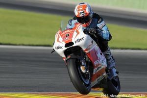 Danilo Petrucci con la Ducati