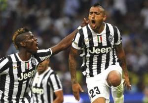Vidal Pirlo Pogba Juve Juventus