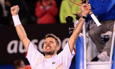 Stanislav Wawrinka, vincitore del primo incontro della finale di Coppa Davis