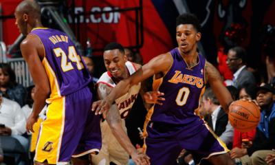 Nick Young e Kobe Bryant, il duo su cui si affidano i Lakers