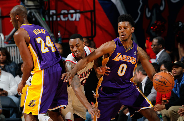 Nick Young e Kobe Bryant, il duo su cui si affidano i Lakers