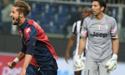 Genoa-Juventus Serie A.