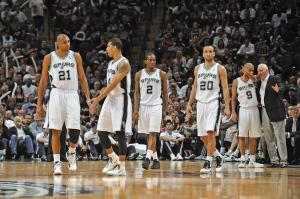 I San Antonio Spurs, campioni in carica della Nba