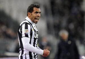 Tevez, sempre protagonista per la Juventus.