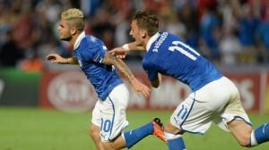 Insigne e Gabbiadini, ieri compagni in Nazionale: domani nel Napoli?