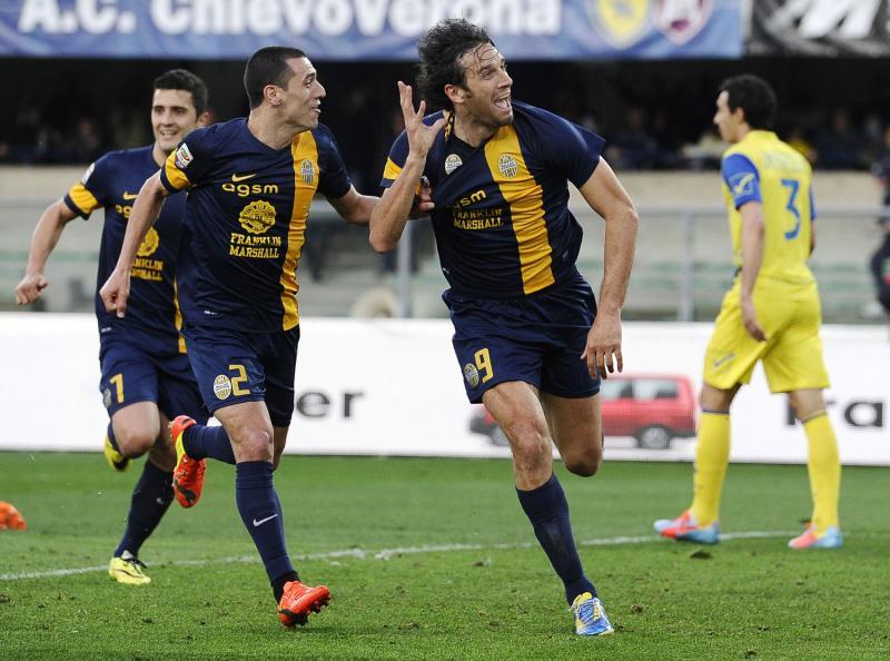 Ultimo derby di Verona deciso da Luca Toni