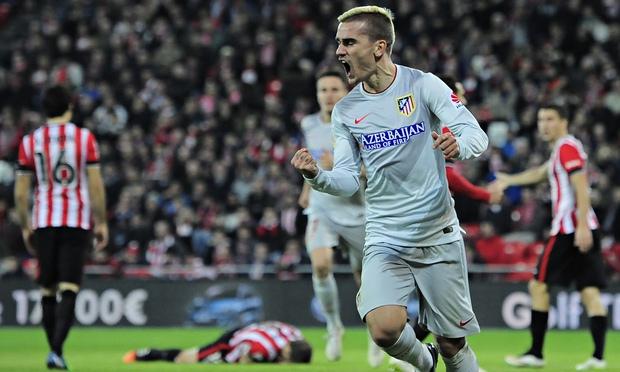 Super Griezmann nella sfida tra Athletic Bilbao ed Atletico Madrid
