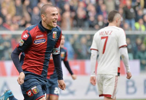 Antonelli castiga il Milan: Genoa 3° sogna la Champions