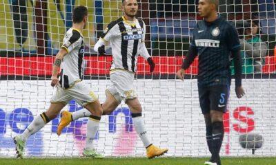 Inter-Udinese 1-2