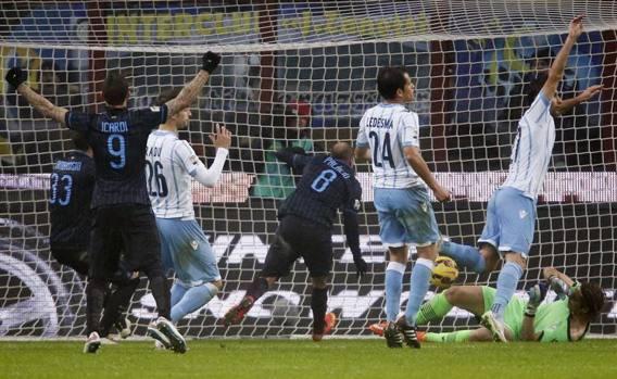 Palacio segna per l'Inter.