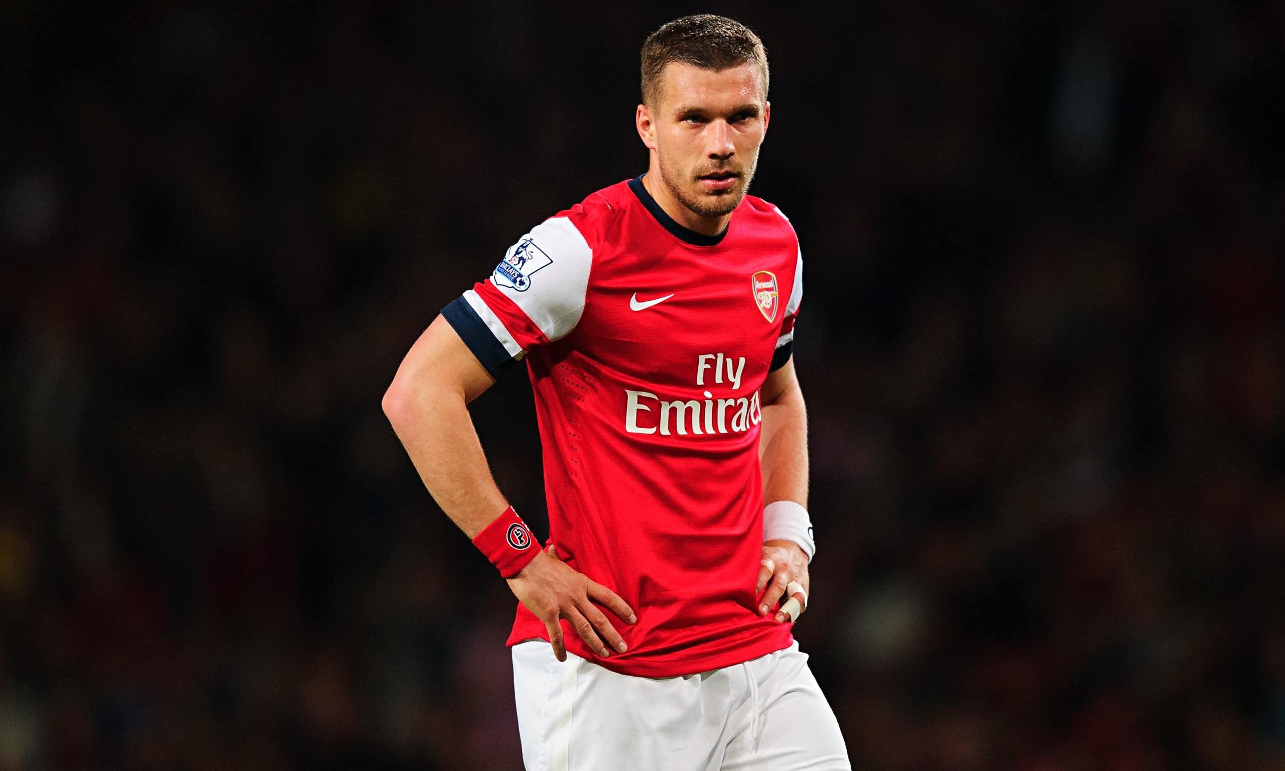 Calciomercato: Lucas Podolski obiettivo di mercato dell'Inter.
