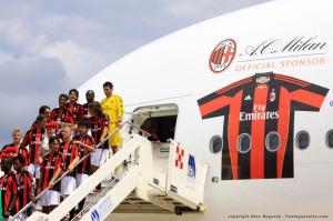 La Fly Emirates, sponsor principale del Milan, darà il nome al nuovo stadio dei rossoneri.