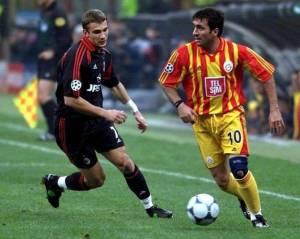 Hagi trascinò, a discapito delle italiane, il Galatasaray alla Coppa Uefa 2000