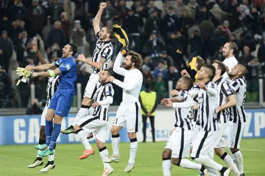 Juventus-Atletico Madrid.