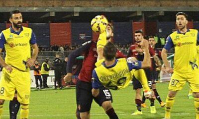 Riccardo Meggiorini, attaccante del Chievo