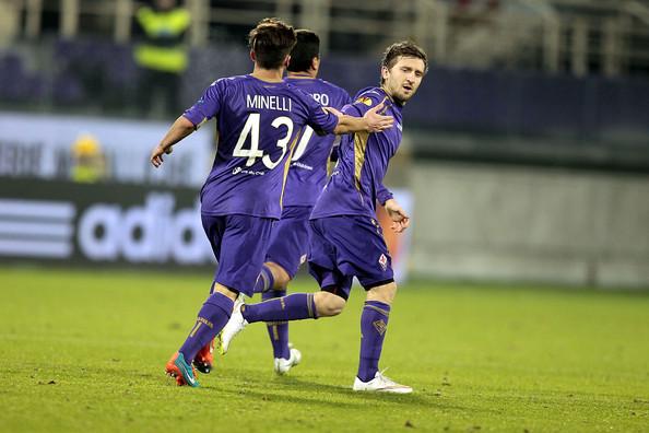 Marko Marin, al primo gol con la maglia della Fiorentina