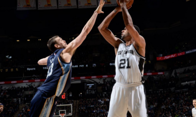 San Antonio Spurs-Memphis Grizzlies 116-117