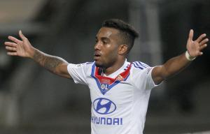 Alexandre Lacazette, Lione, Ligue 1.