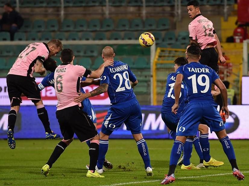 Il Palermo batte il Sassuolo per 2-1