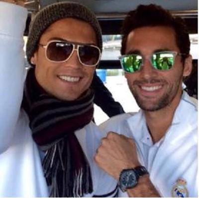 Ronaldo e Arbeloa: cose da ricchi...
