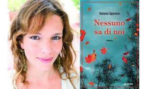 """Simona Sparaco, autrice del libro """" Nessuno Sa Di Noi """""""