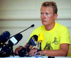 Alexandre Vinokourov, general manager dell'Astana. Il team kazako ha ottenuto la licenza World Tour