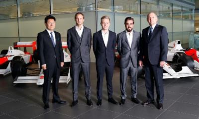 Alonso e Button comporranno il team McLaren
