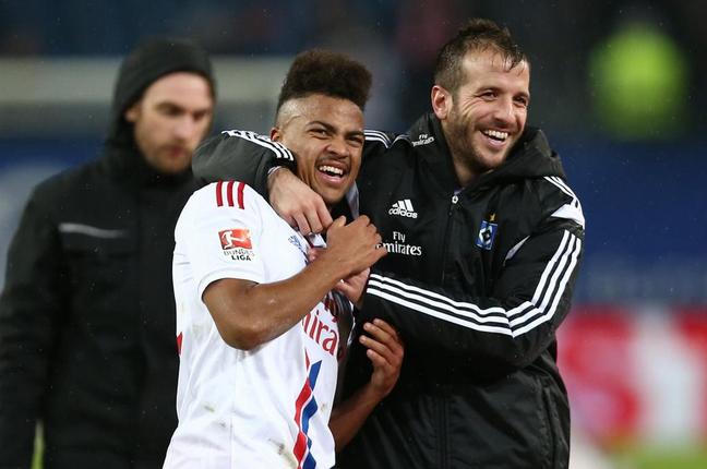 Amburgo-Mainz 2-1, Cleber e Van der Vaart a segno
