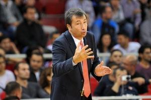 Luca Banchi, coach di Milano.