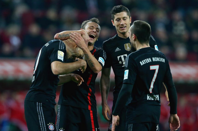 Augsburg-Bayern Monaco 0-4