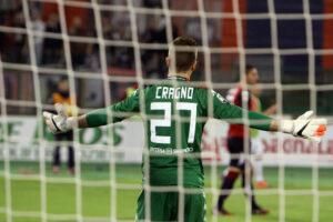 Cagliari-Juventus 1-3: prestazione negativa di Alessio Cragno