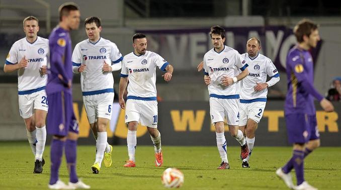 Primo ko per la Fiorentina: la Dinamo Minsk si impone per 2-1