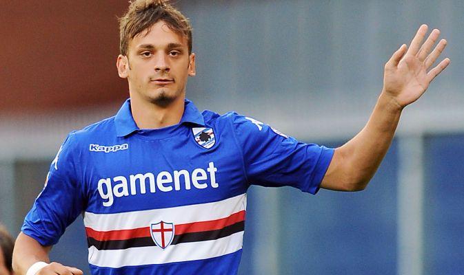Manolo Gabbiadini, Juventus attaccante della Samp nel mirino del Napoli