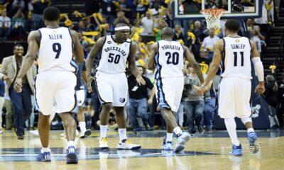 I Memphis Grizzlies, avanti nei Playoff Nba.