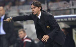 Filippo Inzaghi guida il Milan degli invincibili