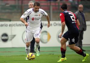 Joaquin, uno dei grandi protagonisti di Cagliari-Fiorentina 0-4