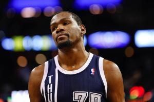 Kevin Durant, leader degli Oklahoma City Thunder