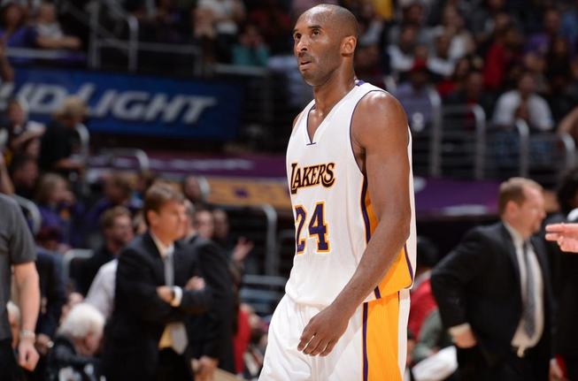 Kobe Bryant, niente All Star Game per lui a causa di un infortunio
