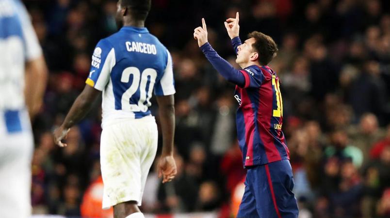 Barcellona-Espanyol 5-1, tripletta di Messi