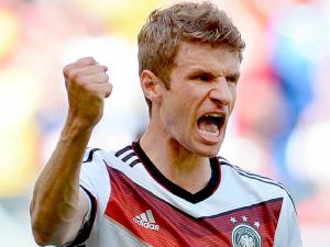 Thomas Muller, a segno 5 volte nel mondiale con la nazionale tedesca