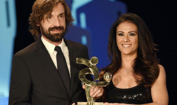 Andrea Pirlo premiato al Gran Gala del calcio