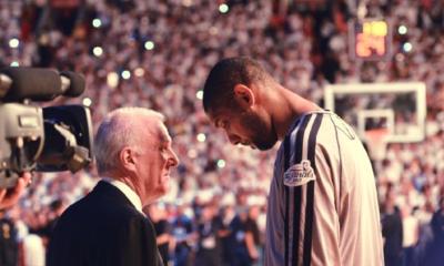 Gregg Popovich e Tim Duncan, mente e braccio dei San Antonio Spurs