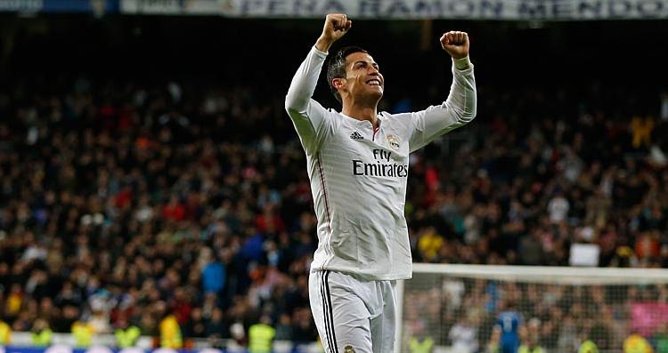 Real Madrid-Celta Vigo 3-0, Ronaldo