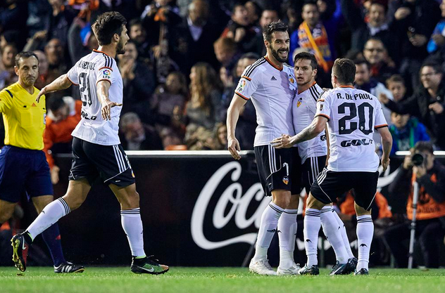 Valencia-Vallecano 3-0