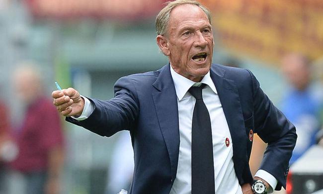 Zeman: il suo Cagliari è messo male nella lotta salvezza