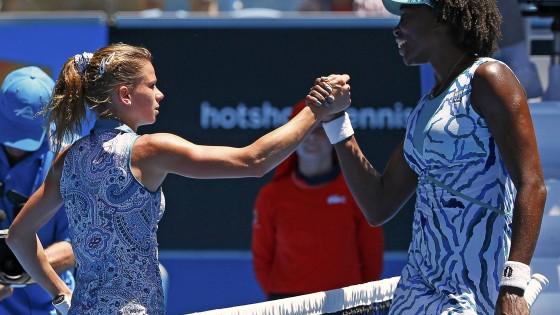 Sconfitta bruciante per Camila Giorgi che esce al terzo turno contro Venus Williams